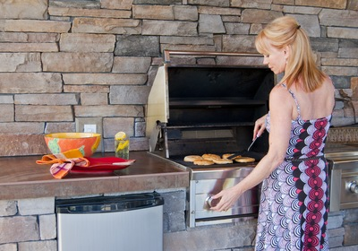 Enjoy Indoor and Outdoor Cooking Spaces for Homes in New Smyrna Beach